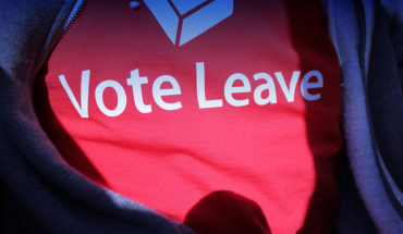 Camiseta pro-Brexit, referéndum sobre la permanencia del Reino Unido en la UE 2016. Foto: fernando butcher (CC BY 2.0). Blog Elcano
