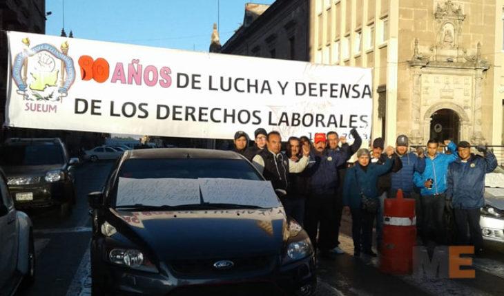 Por quinto año consecutivo trabajadores sin aguinaldo en Michoacán
