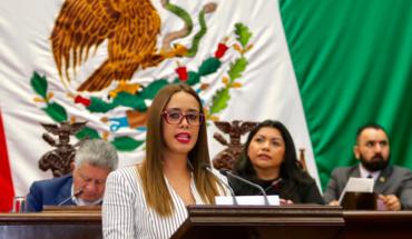 Presenta Tere Mora iniciativa de Ley de Educación Inicial para el Estado de Michoacán