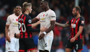 Qué canal transmite Manchester United vs Bournemouth en TV