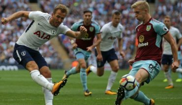 Qué canal transmite Tottenham vs Burnley en TV: Premier League 2018