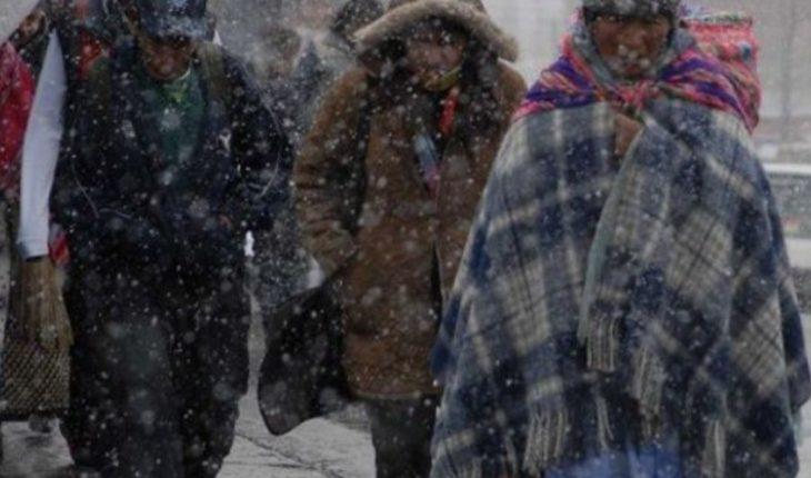 Quinta tormenta invernal y frente frío traerán nieve a estos estados