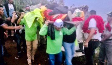 Rescatan a montañista en volcán de Chiapas