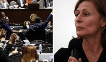 """""""SOS estamos secuestrados en el Congreso"""": Tatiana Clouthier"""