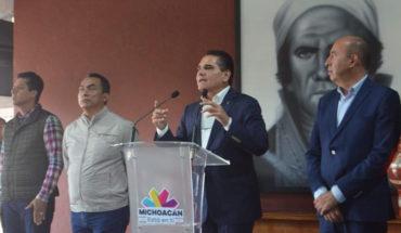 Silvano Aureoles se reunirá con funcionarios del gobierno federal