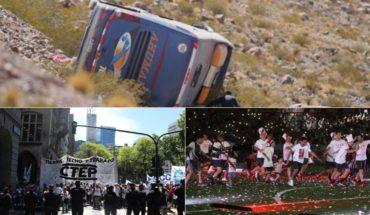 Tragedia en Mendoza, Navidad en Congreso, otra muerte por hantavirus, recreación fallida del Pity Martínez y más...