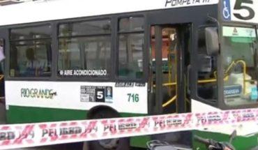 Tras discusión de tránsito, disparó contra un colectivo en Caballito