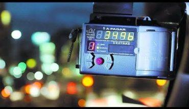 Chau reloj, ahora los taxis tendrán que usar una app