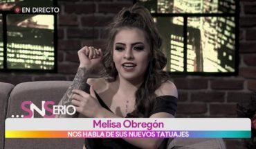 Los nuevos tatuajes de Melisa | Vivalavi