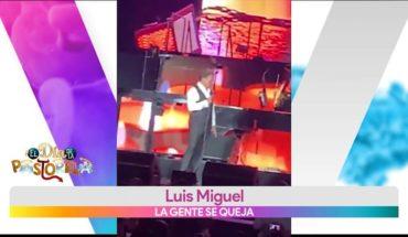 Luis Miguel sale borracho a dar concierto | Vivalavi
