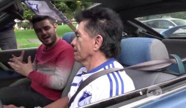 Raúl Santi es tan fanático de Millonarios que transformó su carro en honor al equipo