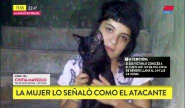 Su pareja la prendió fuego en Brasil y está prófugo