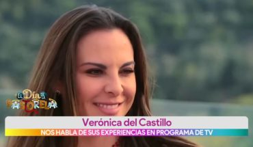 Verónica del Castillo habla de sus experiencias en programa de TV   Vivalavi