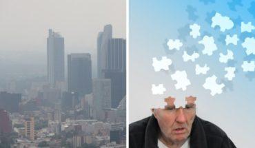 Vivir en CDMX aumenta riesgo de Alzheimer por contaminación