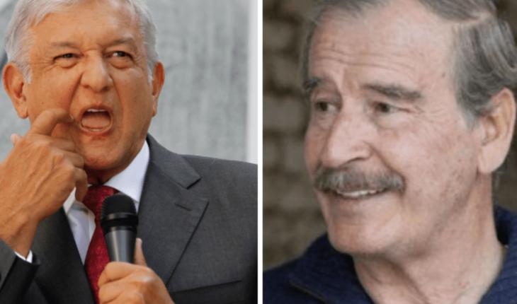 AMLO gana 83 veces el salario mínimo denuncia Vicente Fox