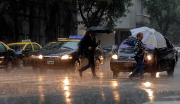 Alert by strong storms and hail to Buenos Aires and Santa Fe