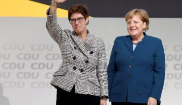 Annegret Kramp-Karrenbauer will succeed German Chancellor as the leader of his party