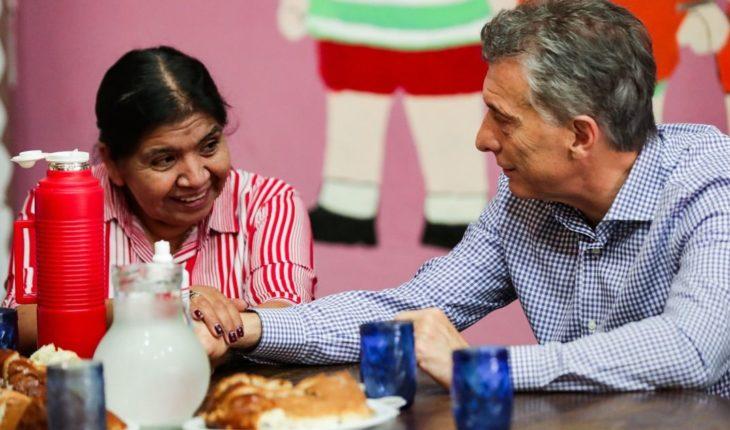 Antes de viajar al Sur a pasar las fiestas, Macri visitó Los Piletones