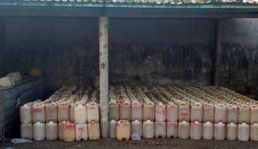 Aseguran 58 mil litros de huachicol en Tabasco