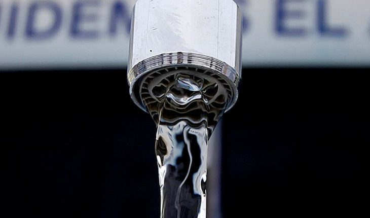 Begins to run tip in water consumption rate until the end of March