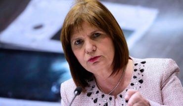 """Bullrich defended the use of weapons: """"We had a police force of arms"""""""