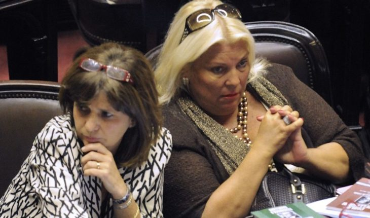 Carrio proposes that the use of weapons is being discussed in Congress