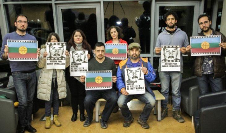 Chileans abroad in protest at murder of Camilo Catrillanca