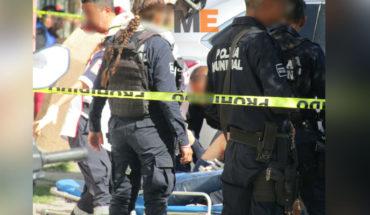 """Cinco detenidos tras balacera en Zamora, una joven resulta herida por """"balas perdidas"""""""