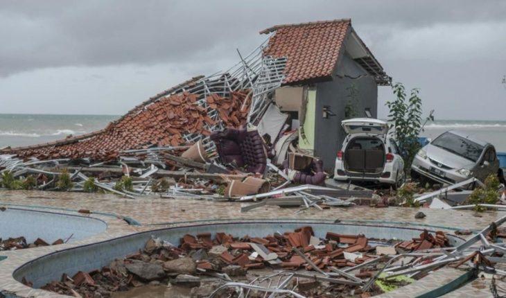 Crece el número de muertos tras el tsunami en Indonesia