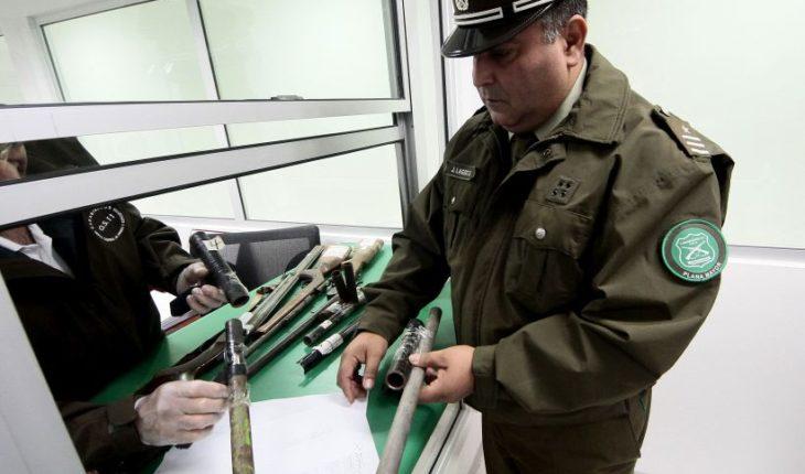 Detienen a proveedor de armas hechizas para delincuentes en San Bernardo