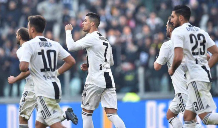 Doblete de CR7 da a una Juventus de récord el triunfo contra la Sampdoria