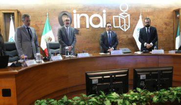 El INAI presiona para desclasificar la infomación reservada