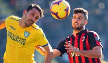 El Milan, sin Suso, no puede con el Frosinone y agudiza su crisis