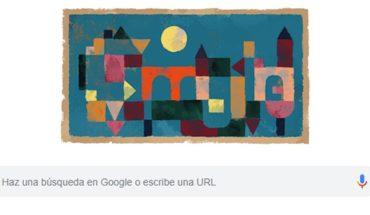 El doodle de Google es sobre el pintor Paul Klee