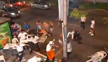 Falso que los comensales que golpean a taqueros en un video sean hondureños