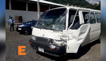 Family suffers accident on Highway, they traveled from the Kings to Uruapan