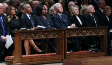 Funeral of George H. w. Bush: tensions behind the historical photo of four U.S. Presidents together (and other highlights)