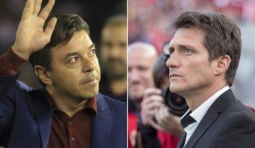 Gallardo and Guillermo, again against Conmebol and the River vs Boca in Madrid