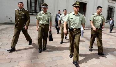 General Rozas se reunió con el ministro y el subsecretario de Interior