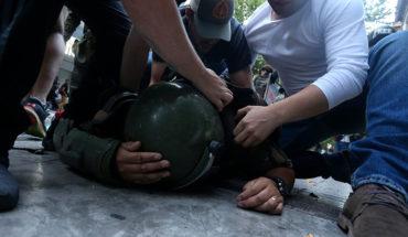 Gobierno condenó agresión a Carabineros en marcha mapuche