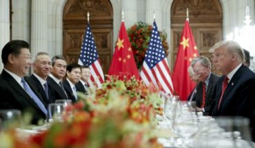 Good news for Argentina: 90 days of commercial truce between us. USA and China