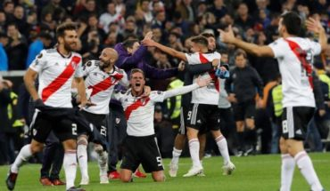 He won the most important party in its history: River Plate defeated Boca Juniors and Copa Libertadores champion is devoted
