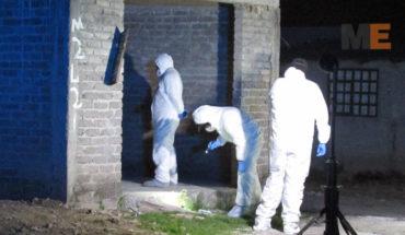 Hombre muerto a balazos en la colonia Ampliación Gertrudis Sánchez de Morelia