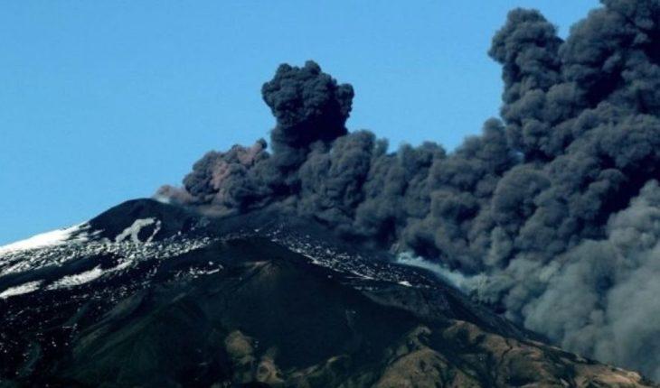 Italia decretó el estado de emergencia tras la erupción del volcán Etna