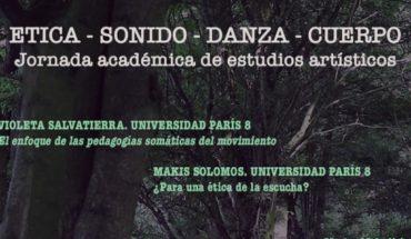 """Jornada """"Ética – Sonido – Danza – Cuerpo"""" en Universidad de Valparaíso"""