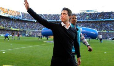 Junto a Angelici, Guillermo se despidió de Boca