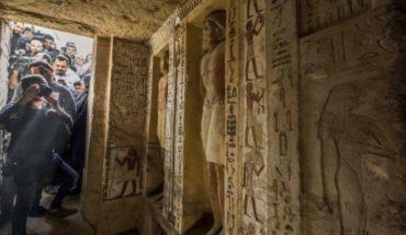 """La tumba """"única en su tipo"""" que fue descubierta en Egipto y que estuvo intacta por 4.400 años"""