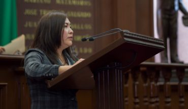 Laura Granados proposes to eliminate penalties on untimely payment of fees for services in Michoacán