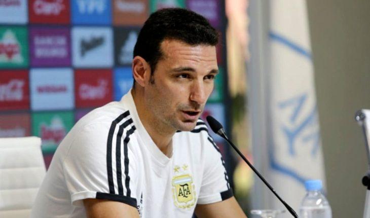"""Lionel Scaloni se ilusiona con una charla """"positiva"""" con Messi"""
