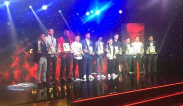 Luciano Aued took the spoils of gold in the Gala de el Fútbol